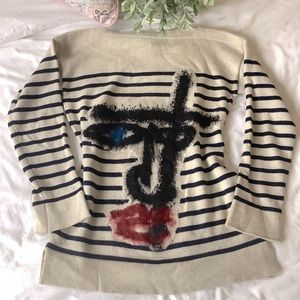 Jean Paul Gaultier x Maille Femme Picasso Face XS